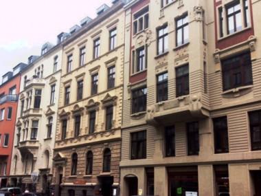 Gründerzeitliche Fassaden im Belgischen Viertel