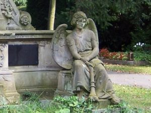 Altes Grab auf dem Friedhof Melaten