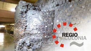 Unterirdisches mit Logo von RegioColonia