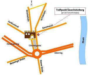Zeichnung Treffpunkt Severinsorburg