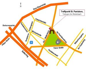 Zeichnung Treffpunkt St. Panaleon