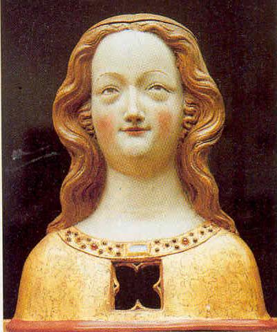 Büste der Heiligen Ursula